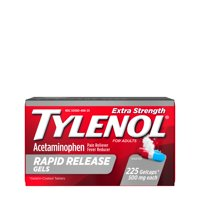 Tylenol Extra Strength Rapid Release Gels with Acetaminophen, 225 ct