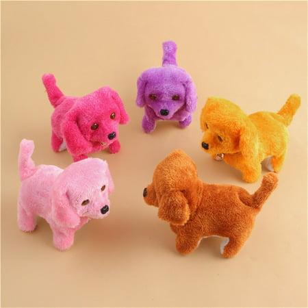Music Light Cute Robotic Electronic Walking Pet Dog Puppy Kids Toy