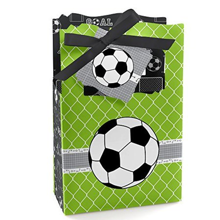 GOAAAL! - Soccer - Party Favor Boxes - Set of 12