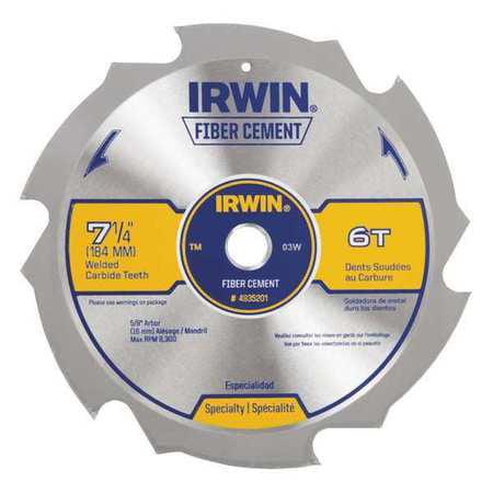 6-Teeth Circular Saw Blade IRWIN 4935201