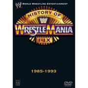 WWE The History of WrestleMania I-IX, 1985-1993 by GENIUS PRODUCTS INC