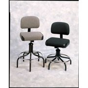 Bevco Task Chair, Upholstered, 300 lb. Weight Limit, Gray, 2600/5 GRAY