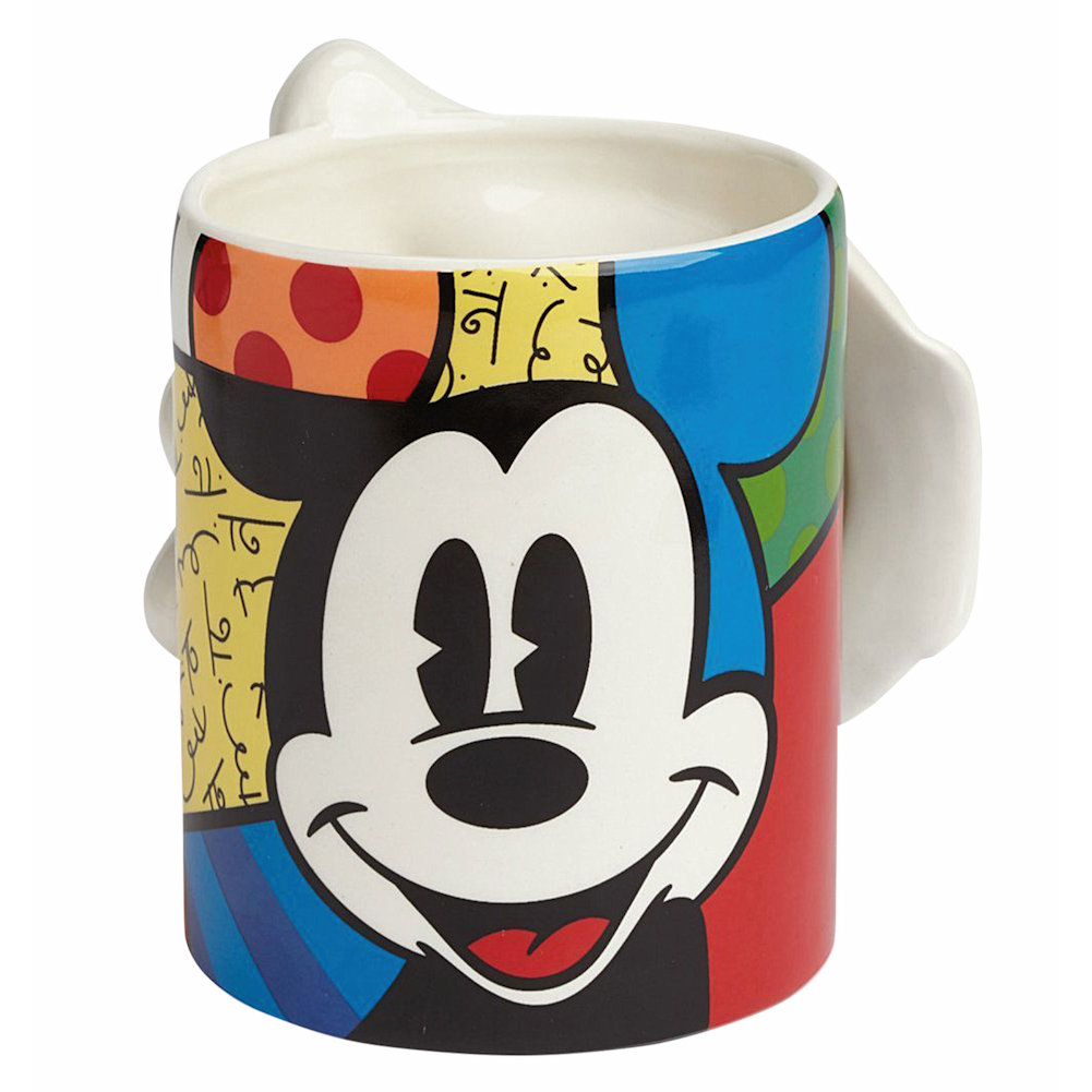 Mickey Mouse Glove Sculpted 3D Stoneware Mug