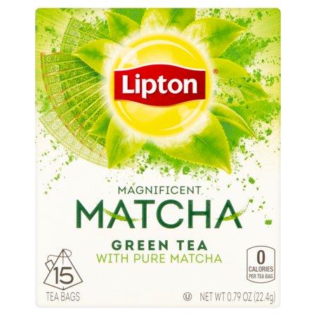 Lipton Thé vert Matcha Sacs Thé vert, 15 ct
