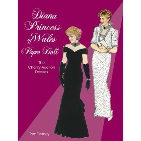 Diana Princess of Wales Paper Doll : The Charity Auction