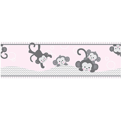 Bedtime Originals by Lambs & Ivy - Pinkie Wallpaper Border