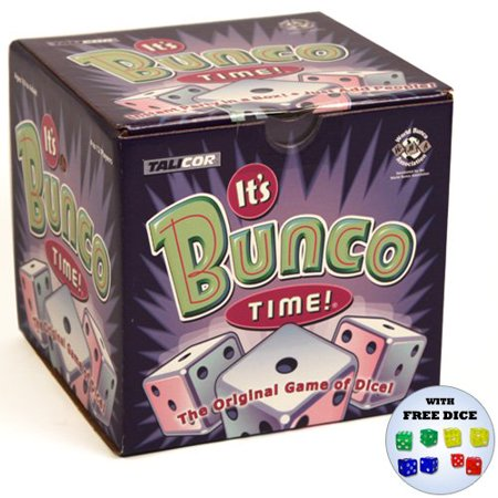 It's Bunco Time w/Free Rainbow Dice Pack, Great party game By TaliCor - Great Classroom Halloween Games