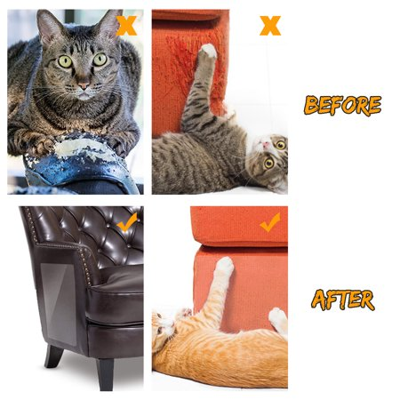 2pcs Anti Scratch Mattress Couch Protector For Cats Stop