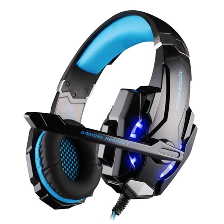 Kotion Each G9000 3 5Mm Game Headset Noise Cancellation Earphone With  Mic Led Light For Ps4 Laptop Tablet Mobile Phones