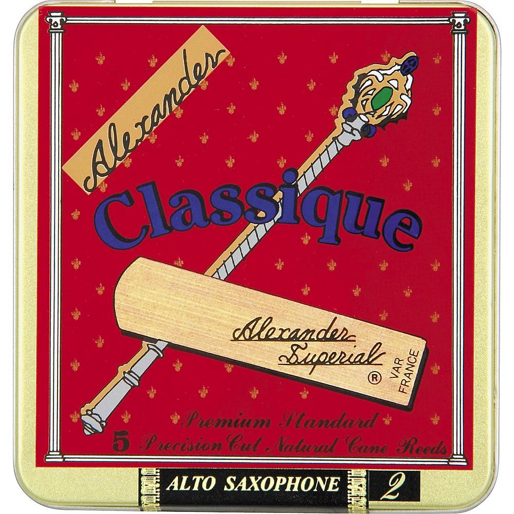 Alexander Reeds Classique Alto Saxophone Reeds Strength 2.5