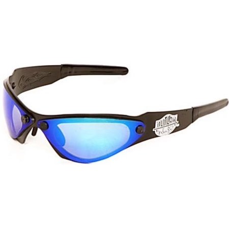 Outlaw Eyewear Shank BLACK Frame Interchangable Lens Aluminum Motorcycle (Aluminum Eyewear)