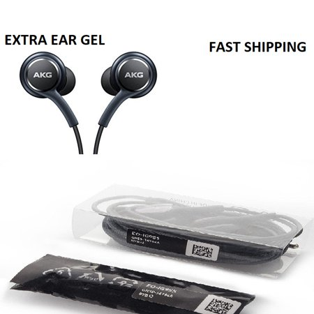 OEM Samsung Galaxy S8 S8+ S9 S9+ S10  AKG Ear Buds Headphones Headset EO-IG955 with extra ear gel New