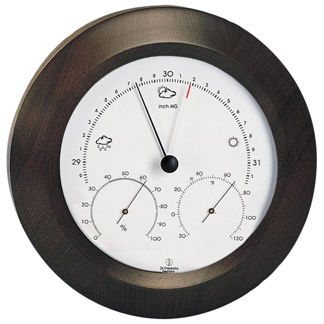 Weather Station 8 inch Walnut