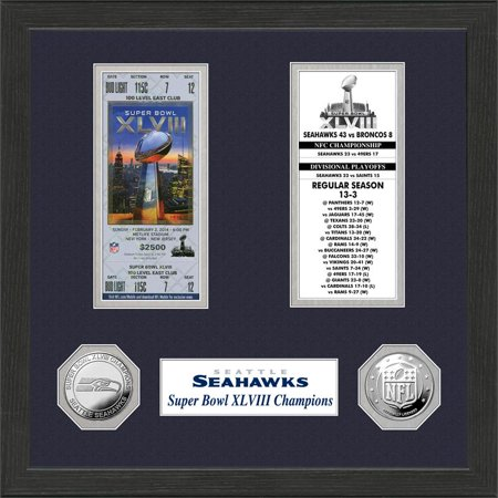 Seattle Seahawks Sb Championship Ticket Collection
