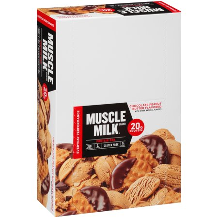 Muscle Milk® Chocolate Peanut Butter Flavored Protein Bar 12-2.25 oz.