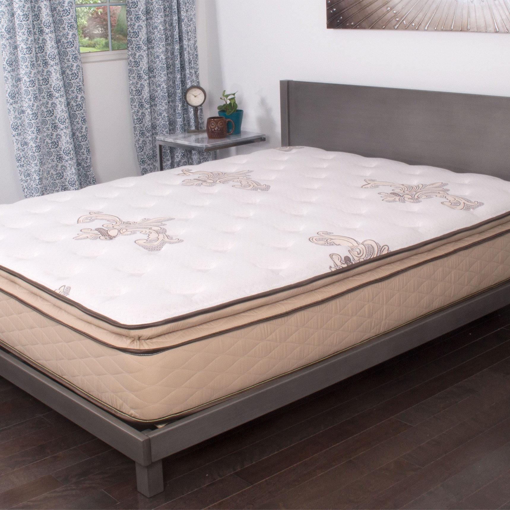 NuForm Quilted Pillow Top 11inch California Kingsize Foam Mattress