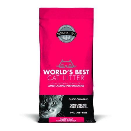World's Best Cat Litter Multiple Cat Clumping Litter,
