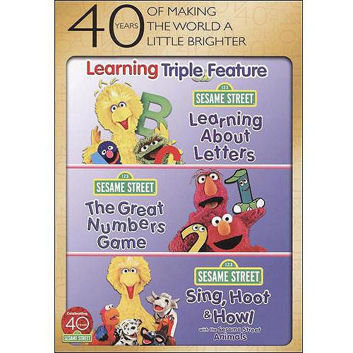 Sesame Street: Learning Triple Feature Pack (Full Frame)