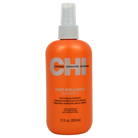 Deep Brilliance Silkeratin 17 Hair Fortifying Treatment by CHI for Unisex - 12 oz Treatment