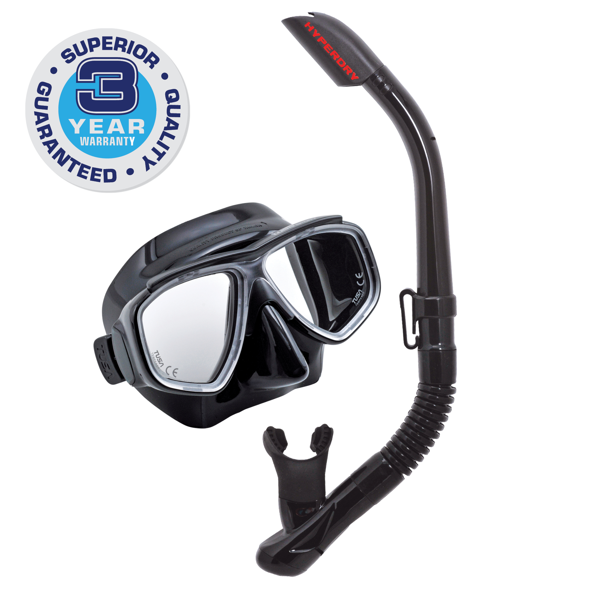 TUSA Sport Adult Splendive Mask and Snorkel Combo by Tabata USA, Inc.