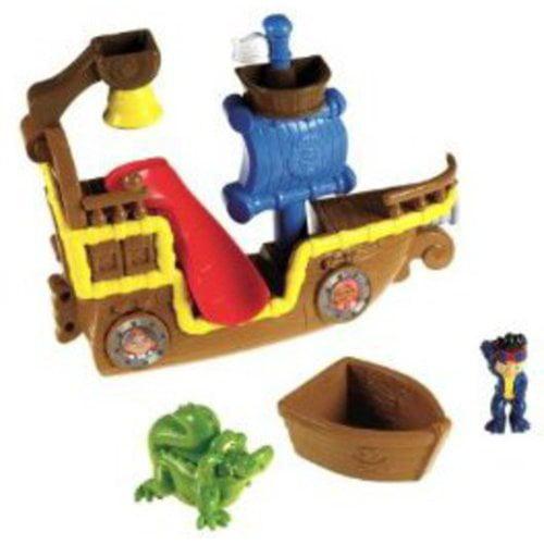 Fisher-Price Jake and the Never Land Pirates Splashin' Bucky Bath Toy Play Set