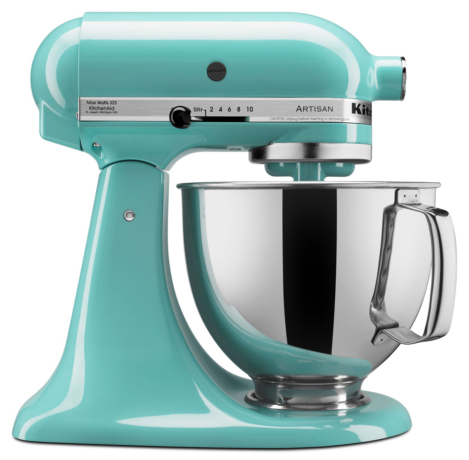 KitchenAid® Artisan® Series 5 Quart Tilt-Head Stand Mixer, Aqua Sky (KSM150PSAQ)