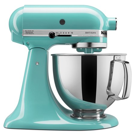 KitchenAid Artisan Series 5 Quart Tilt-Head Stand Mixer, Aqua Sky (KSM150PSAQ)