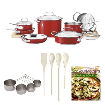 Cuisinart chef 39 s classic color series 11 piece kitchen set for Kitchen set classic
