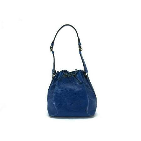 Blue Epi Leather Petit Noe 213197