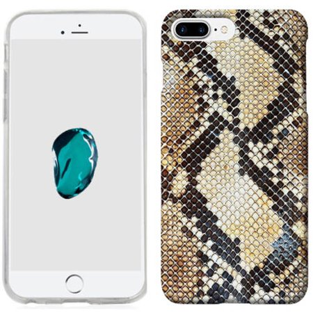 Mundaze Snake Skin Phone Case Cover for Apple iPhone 7 (Snake Card Case)