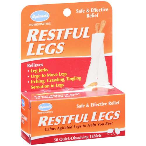 Hylands Restful Legs 50 Quick-Dissolving Tablets