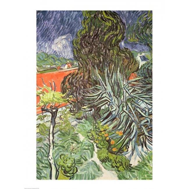 Posterazzi BALXIR78196 The Garden of Doctor Gachet at Auvers-Sur-Oise 1890 Poster Print by Vincent Van Gogh - 18 x 24 in. - image 1 de 1