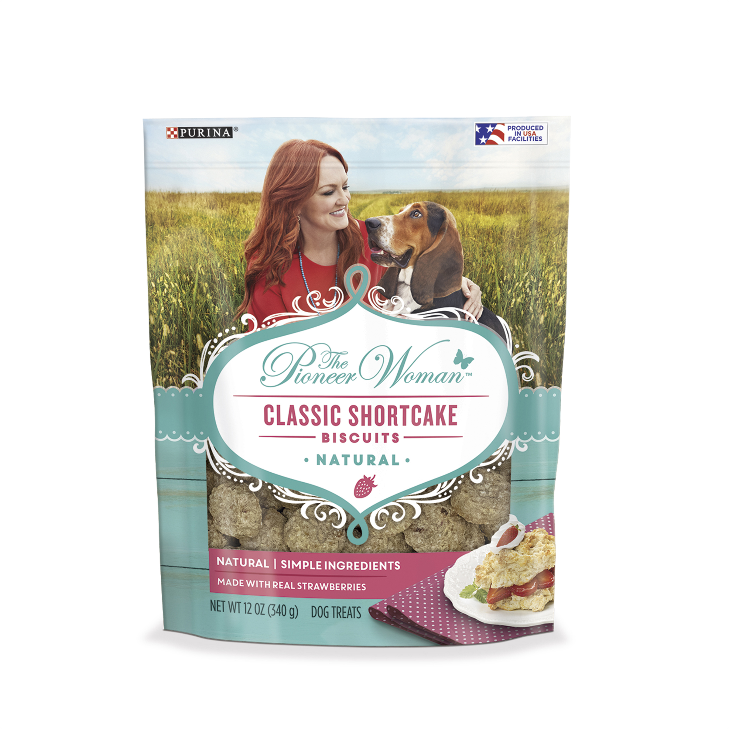 The Pioneer Woman Natural Dog Treats; Classic Shortcake Biscuits - 12 oz. Pouch