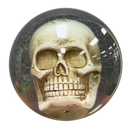 Clear Skull Bowling Ball 14lbs (Best Polyester Bowling Ball)