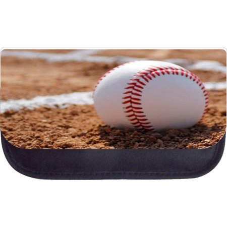 Baseball Pencils (Baseball in Gravel  - Black Pencil Bag - Pencil)