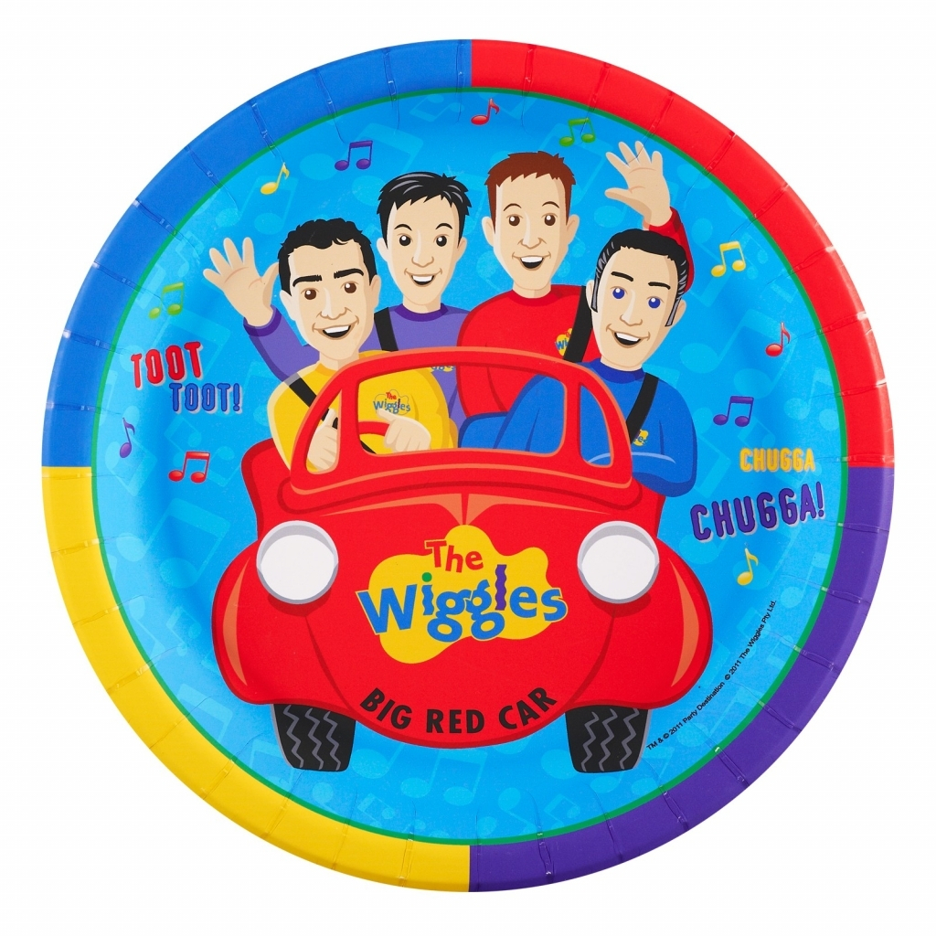 "The Wiggles Edible Birthday Cake Topper 8"" Round Frosting ..."
