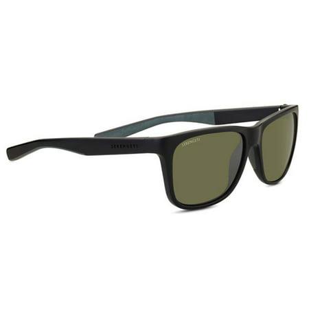 Serengeti Classic Sunglasses - Serengeti 8682 Sunglasses Classic NylonLivioSanded Black/GreyPolarized 555nm