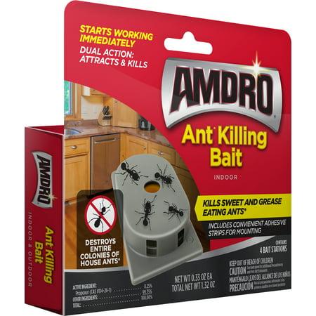 Amdro Ant Kills Ant Killer Bait Station, 4 Count