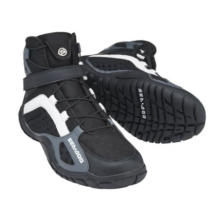Brp Seadoo Watercraft High Cut Neoprene Riding Boots Black