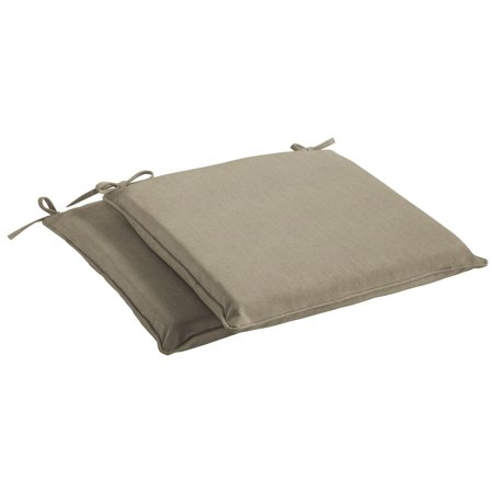 Humble and Haute  Sunbrella Canvas Taupe Indoor/ Outdoor Cushion, Set of 2 Canvas Taupe Sunbrella