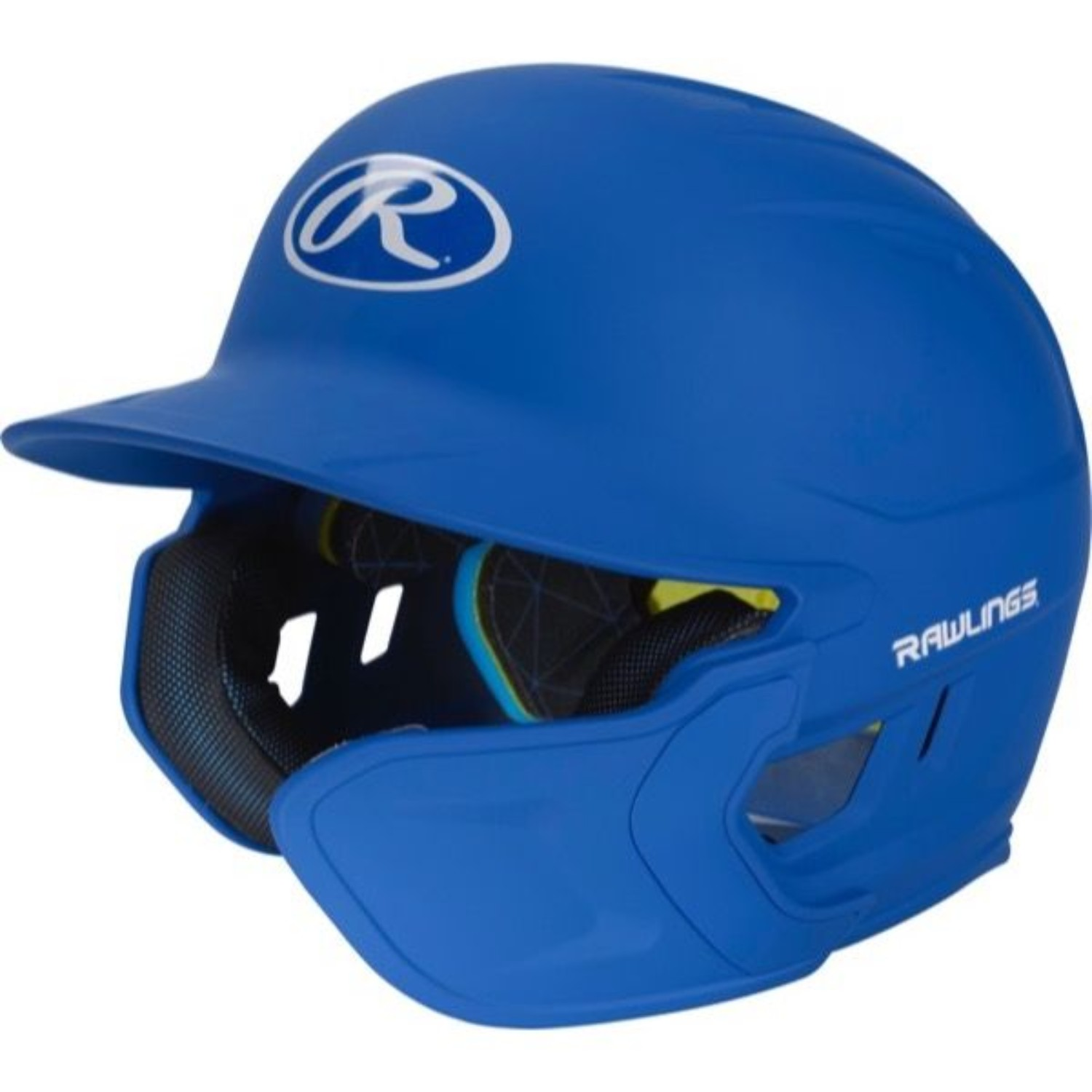 Rawlings Mach EXT Batting Helmet-SR-RH, Royal