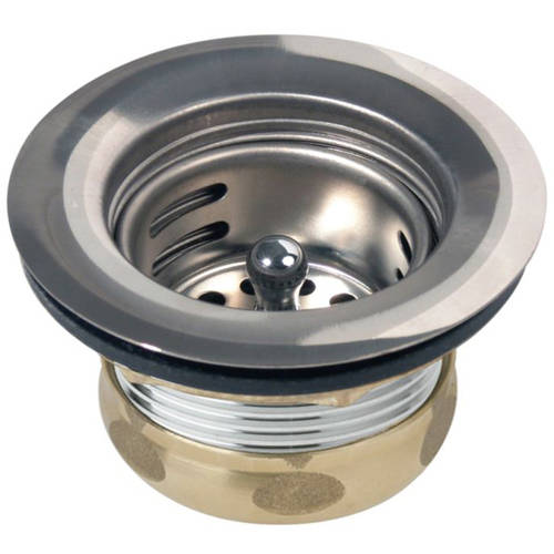 Elkay D5018A Dayton Stainless Steel Drain Fitting