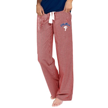 Philadelphia Phillies Pants - Philadelphia Phillies Concepts Sport Women's Tradition Woven Pants - Red/White