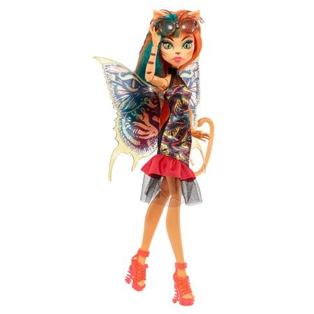Monster High Garden Ghouls Wings Toralei Doll Walmart Com