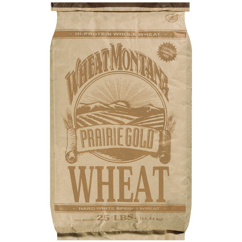 Wheat Montana: Prairie Gold Hard White Spring Wheat, 25 lb