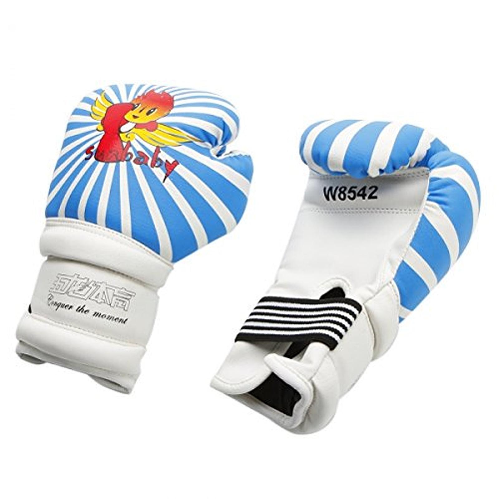 Kids Boxing Gloves 6oz PU Junior Cartoon Punch Bag MMA Sparring Dajn Training
