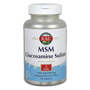 MSM Glucosamine Sulfate Kal 90 Tabs