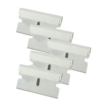 Great Neck 21037 Essentials Professional Single Edge Razor Blades (Pack of 5) (Razor Blade Halloween Candy)