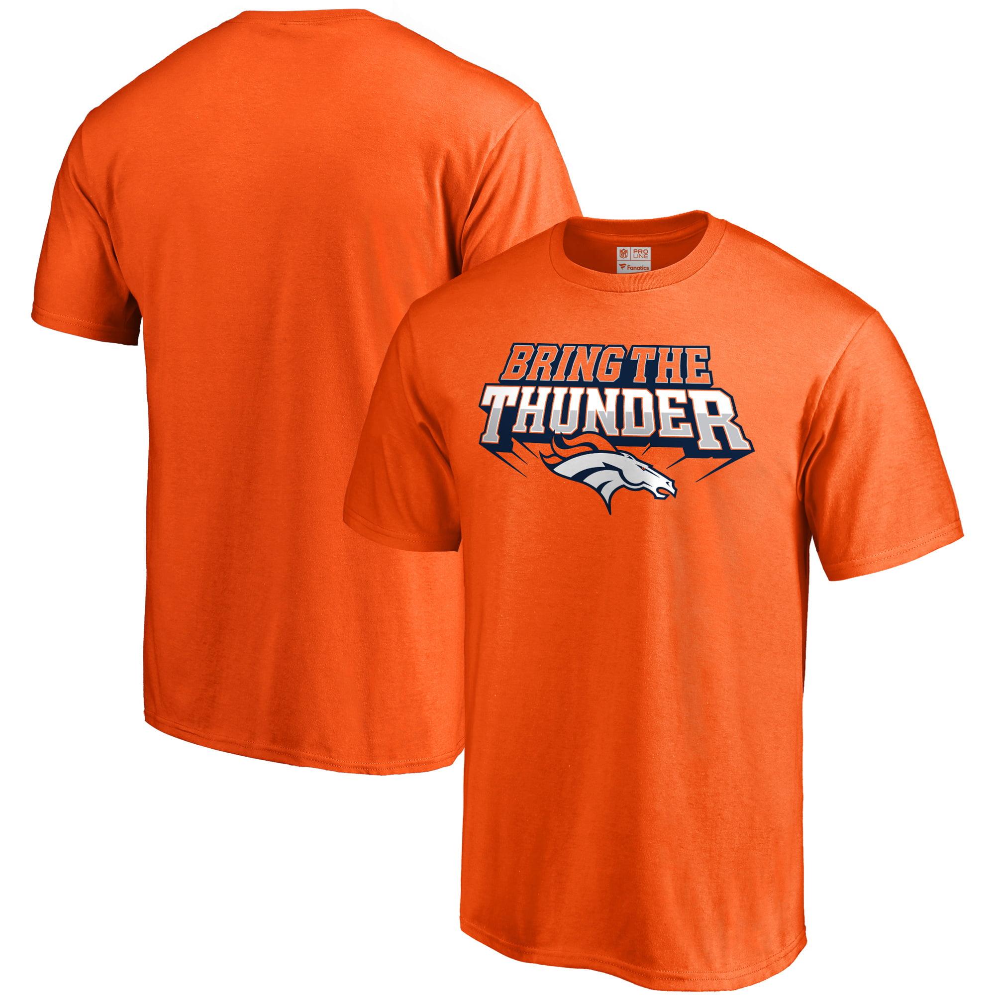 Denver Broncos NFL Pro Line Hometown Collection T-Shirt - Orange