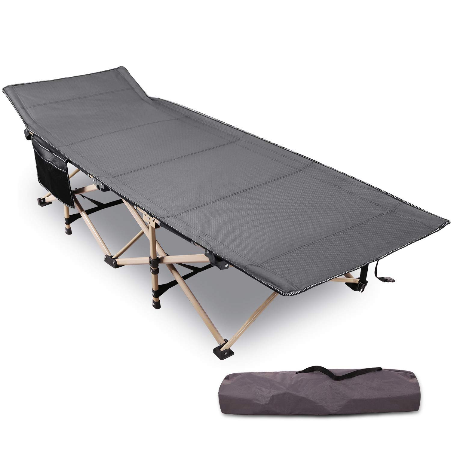 REDCAMP Camping Cot Foldable for Adults,Heavy Duty ...